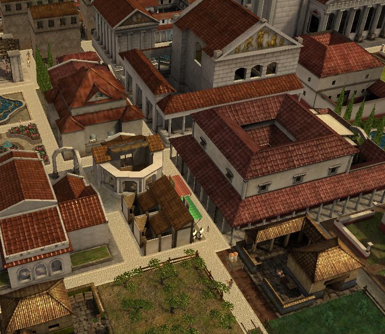 Roman Upper Class Life